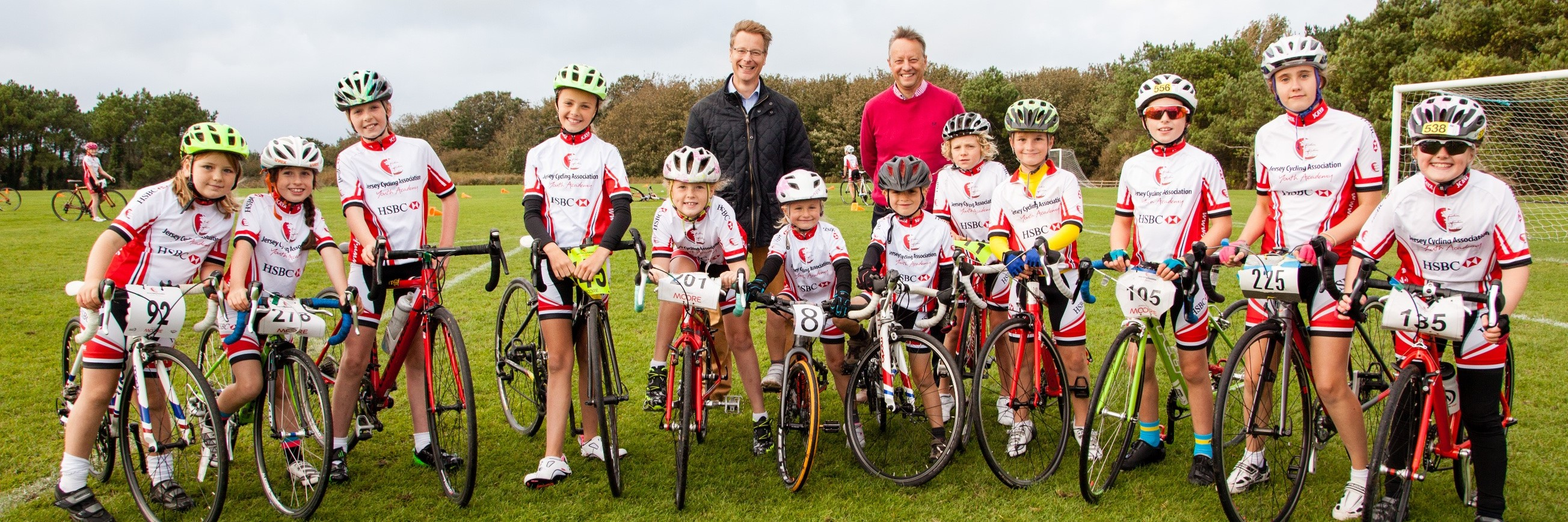 Jersey Youth Cycling Riders